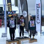 Canada Cup Series Slopestyle Podium - Yukon